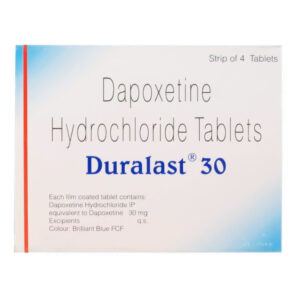 Dapoxetine (Duralast) 30 mg Tablet